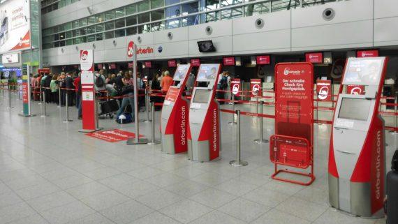 Check-in de Air Berlin
