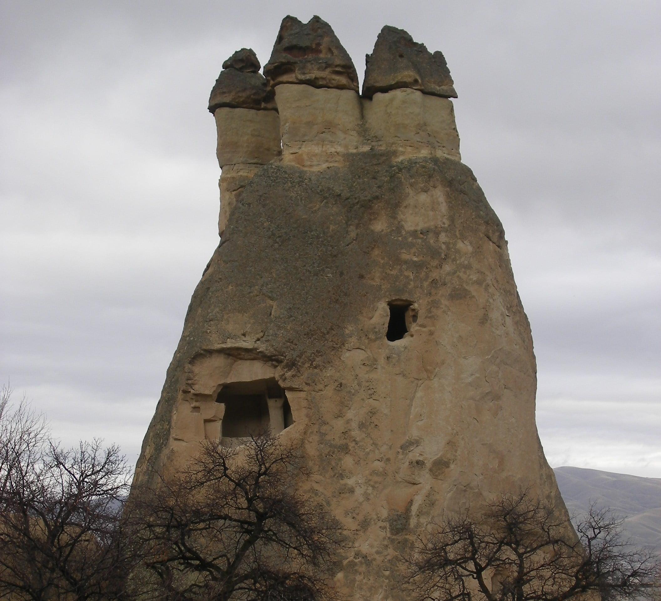 Chimeneas de las Hadas, Capadocia