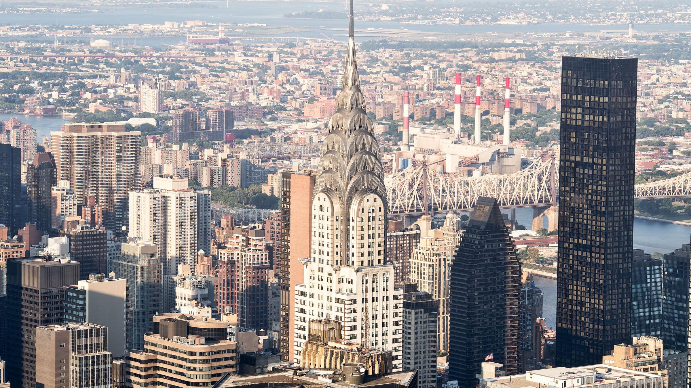 Chrysler en Building de Nueva York
