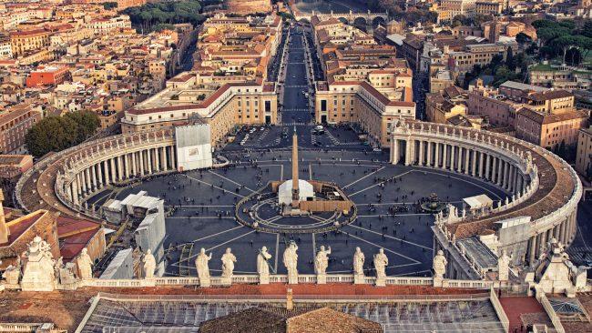 Ciudad del Vaticano, sede de la Iglesia Católica