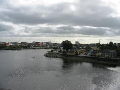 Ciudades del Reino Unido El río Shannon  en Irlanda