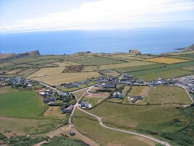 Ciudades del Reino Unido Localidad de Rhosilli en la Península de Gower