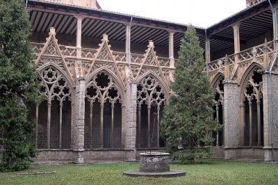 Claustro de la Catedral de Pamplona