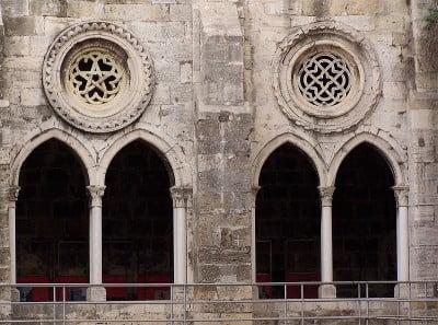 Claustro de la Catedral de Lisboa