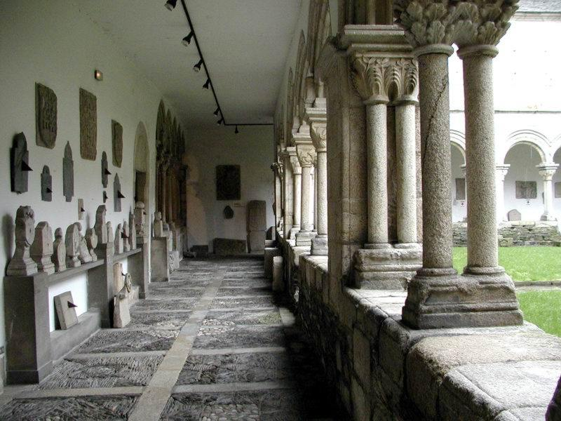 Claustro del Museo Provincial de Lugo