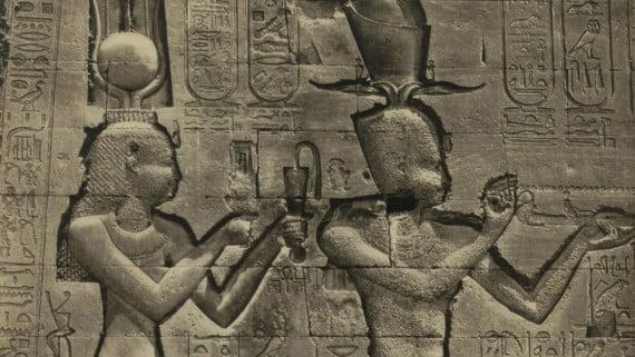 Escultura de Cleopatra VII