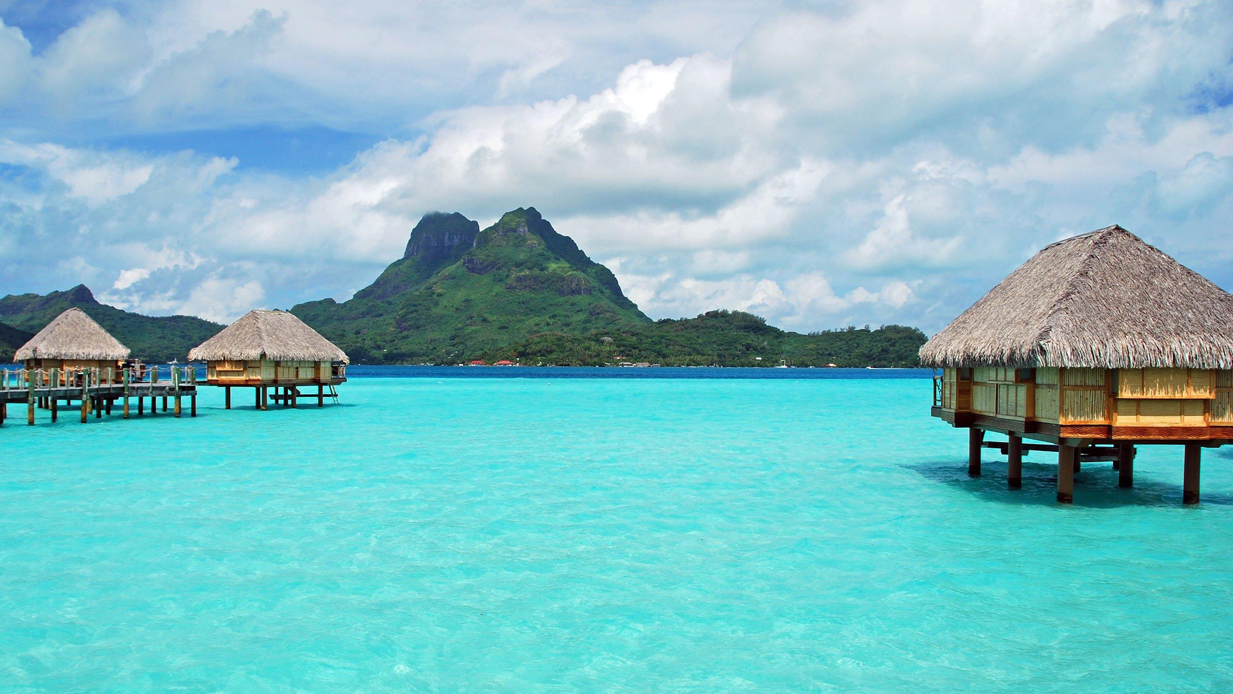 Clima tropical de Bora Bora