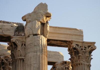 Columnas del Templo de Zeus Olímpico