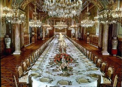 Comedor del Palacio Real de Bruselas