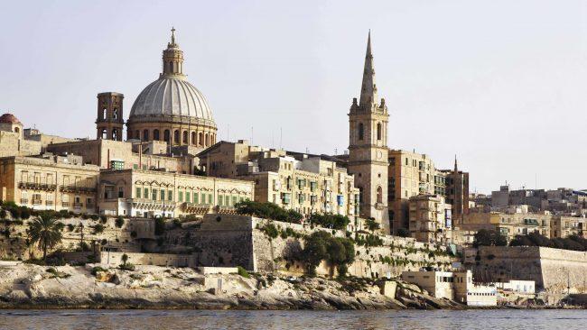 Concatedral de San Juan en La Valeta, Malta