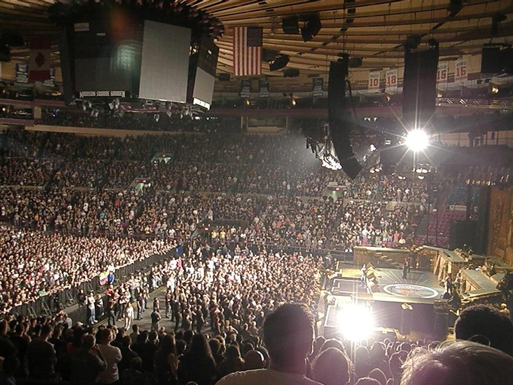 Concierto en el Madison Square Garden