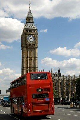 Consulado en Inglaterra big ben