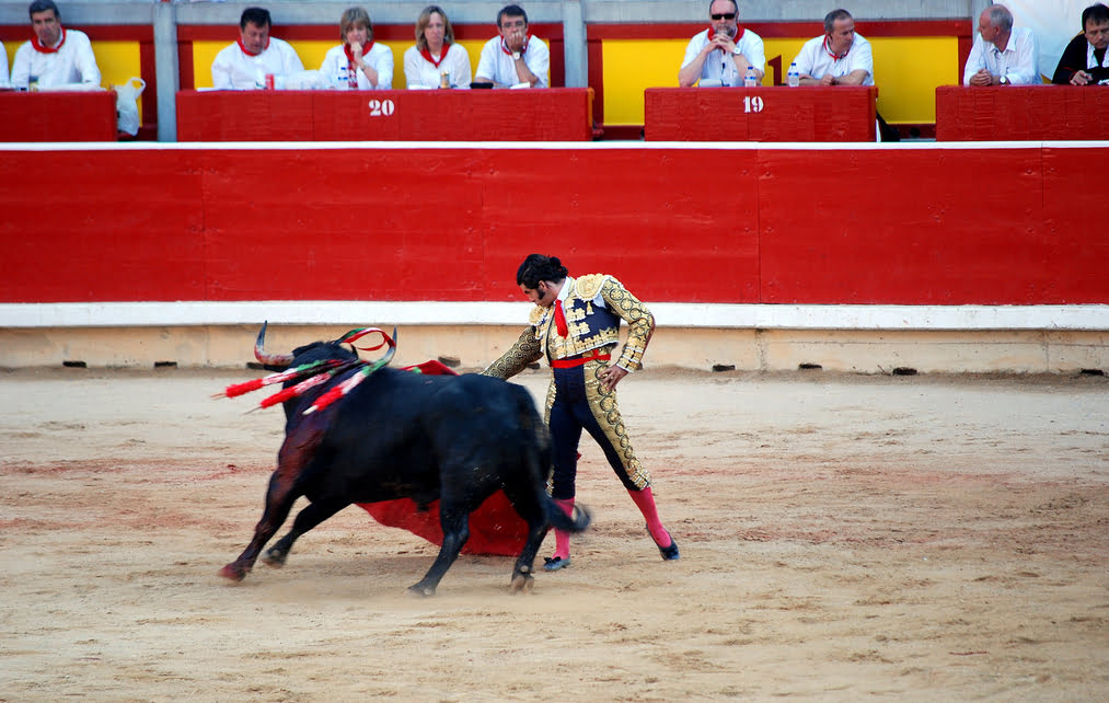 Corrida de Toros en San Fermín