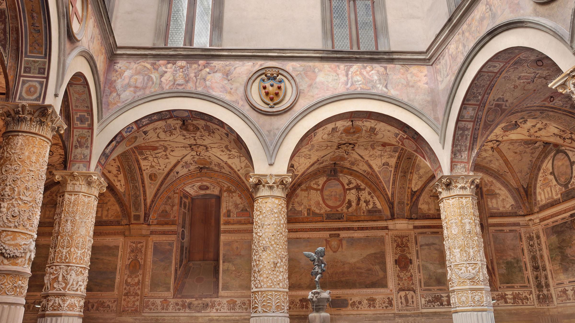 Cortile del Palacio Vecchio