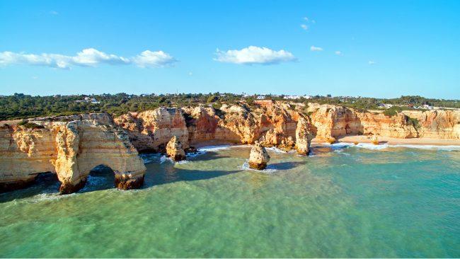 Costa del Algarve, en Portugal