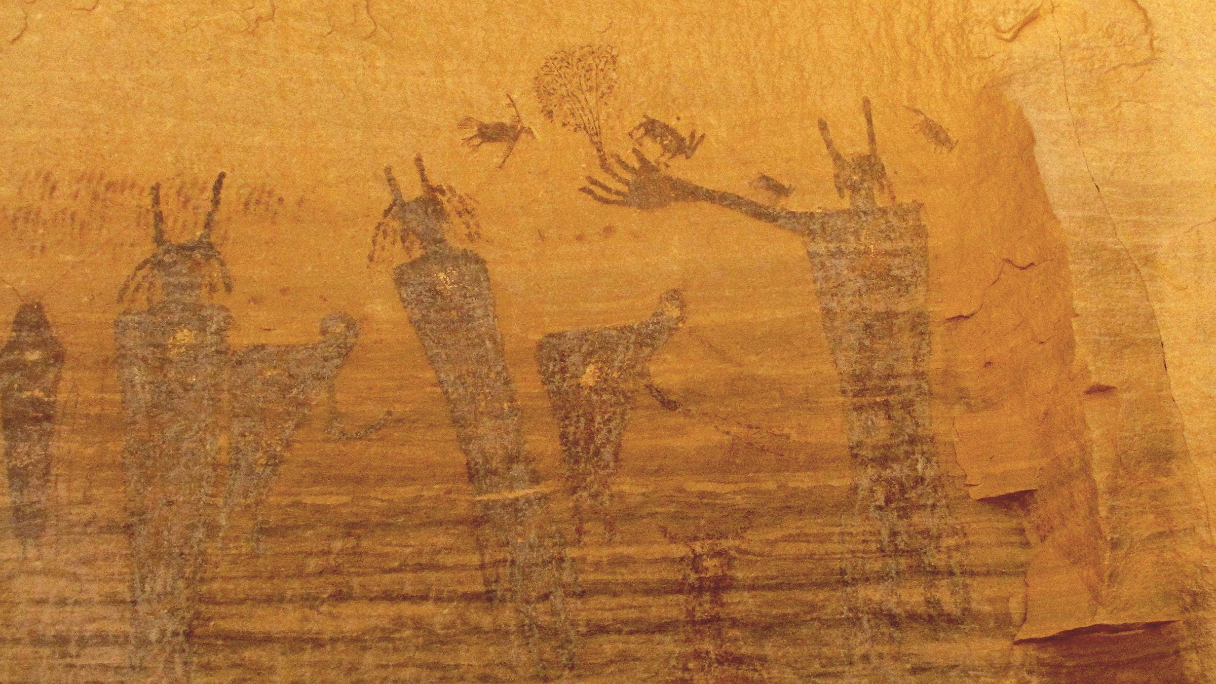costumbres aborígenes arte