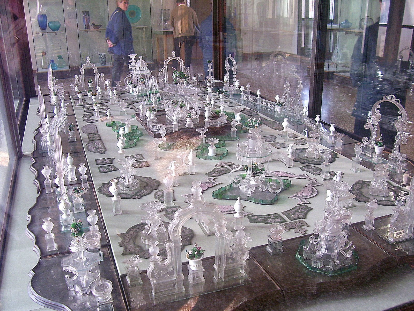 Cristales del Museo de Murano