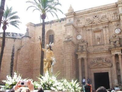 Cristo en procesión