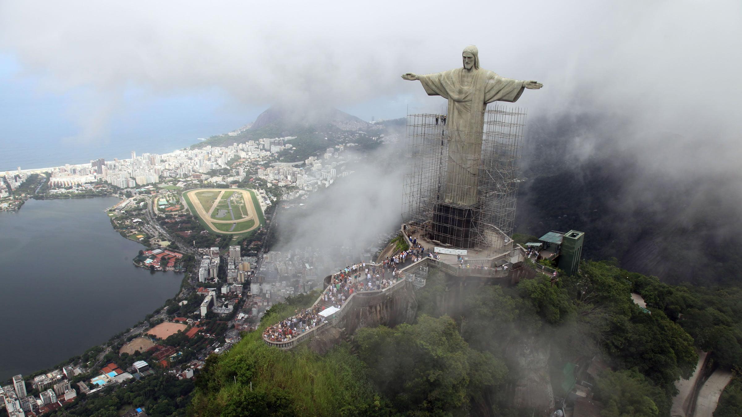 Cristo Redentor En Río De Janeiro, Brasil