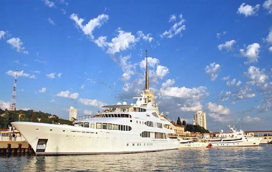 Crucero en el mar negro, Sochi
