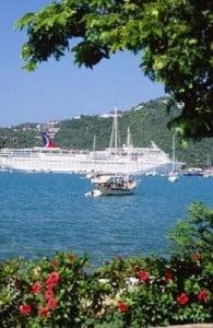 crucero por el caribe llegando