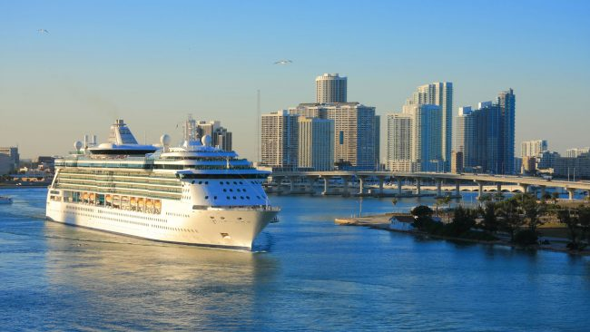 Cruises to the southern region of the United States