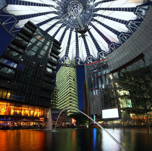Potsdamer Platz en Berlín