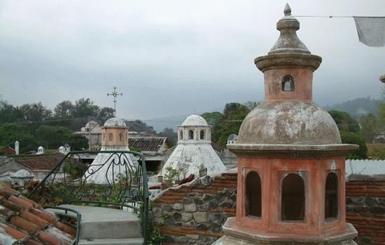 Cupulas en Antigua Guatemala