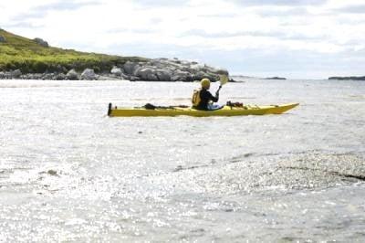cursos de kayak en reposo