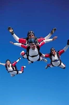 cursos de paracaidismos primerizo y avanzados