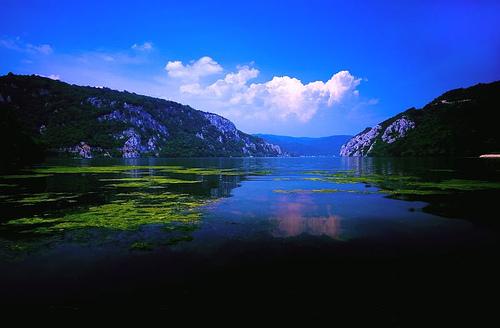 Danubio en Suiza, Paisajes