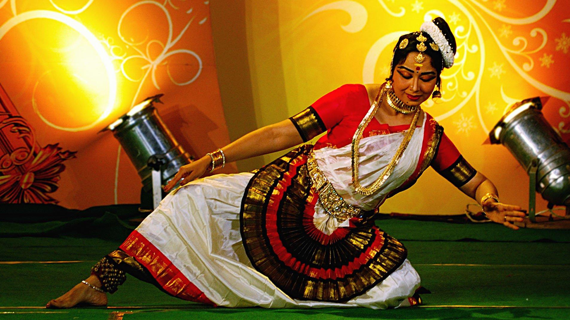 danzas de la India Mohiniaattam