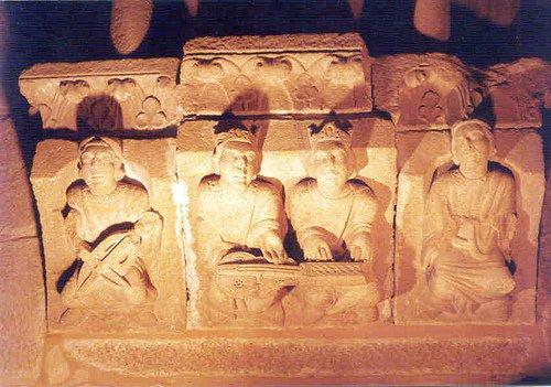Decoración del Palacio de Gelmírez