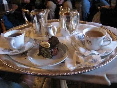 Delicias en el Café Florian