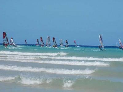 Deportes en Playa Blanca