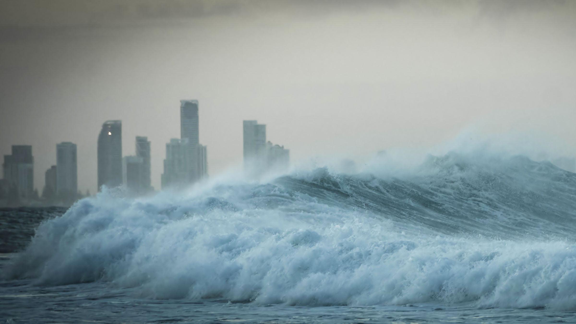 desastres naturales los tsunamis