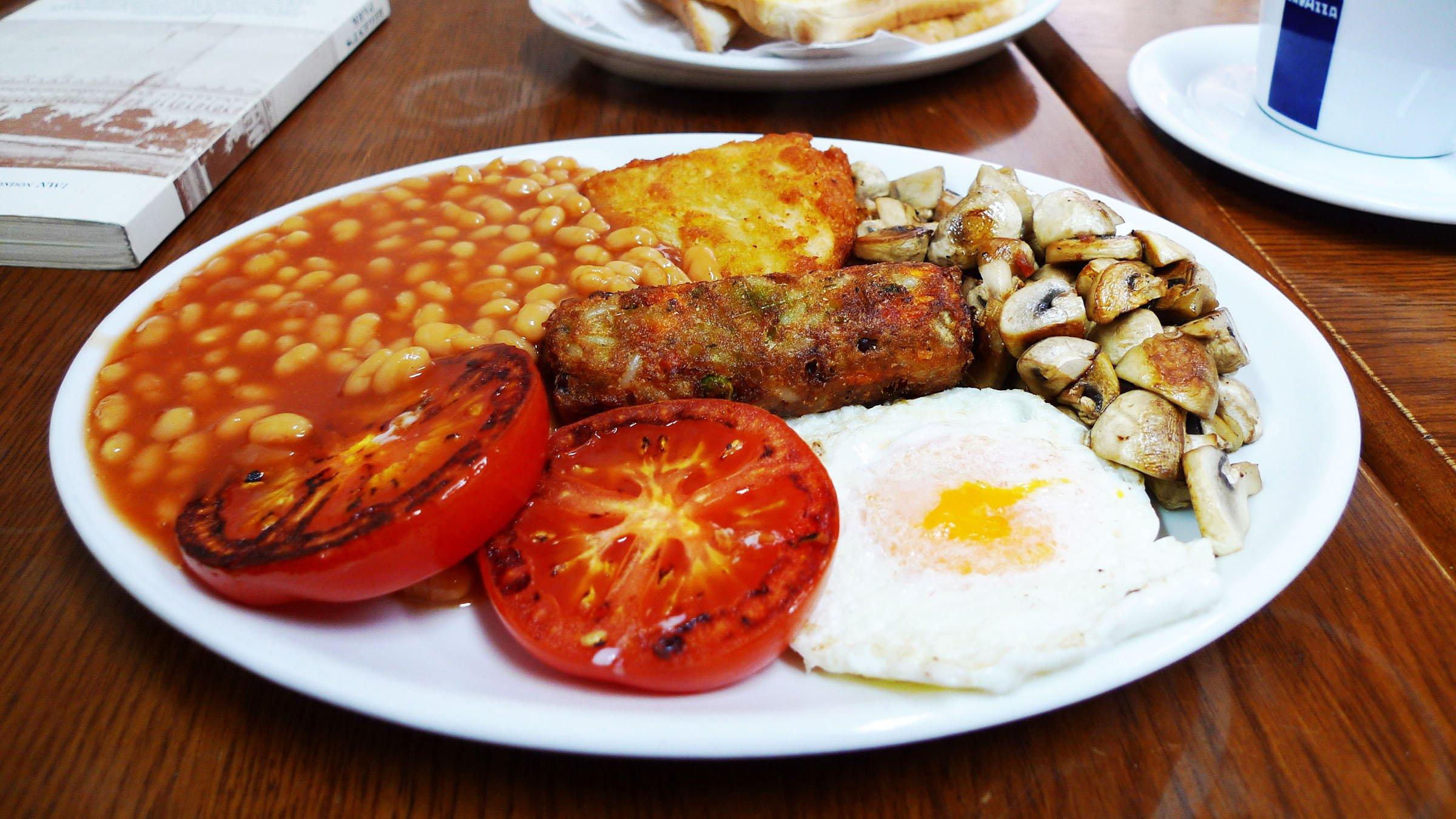 Desayuno Inglés-Inglaterra