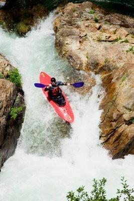 Descenso kayak coordinación
