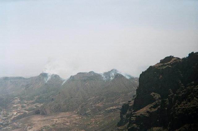 Desde el Pico de las Nieves