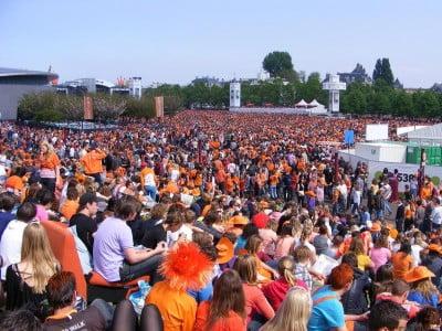 Día de la Reina en Ámsterdam
