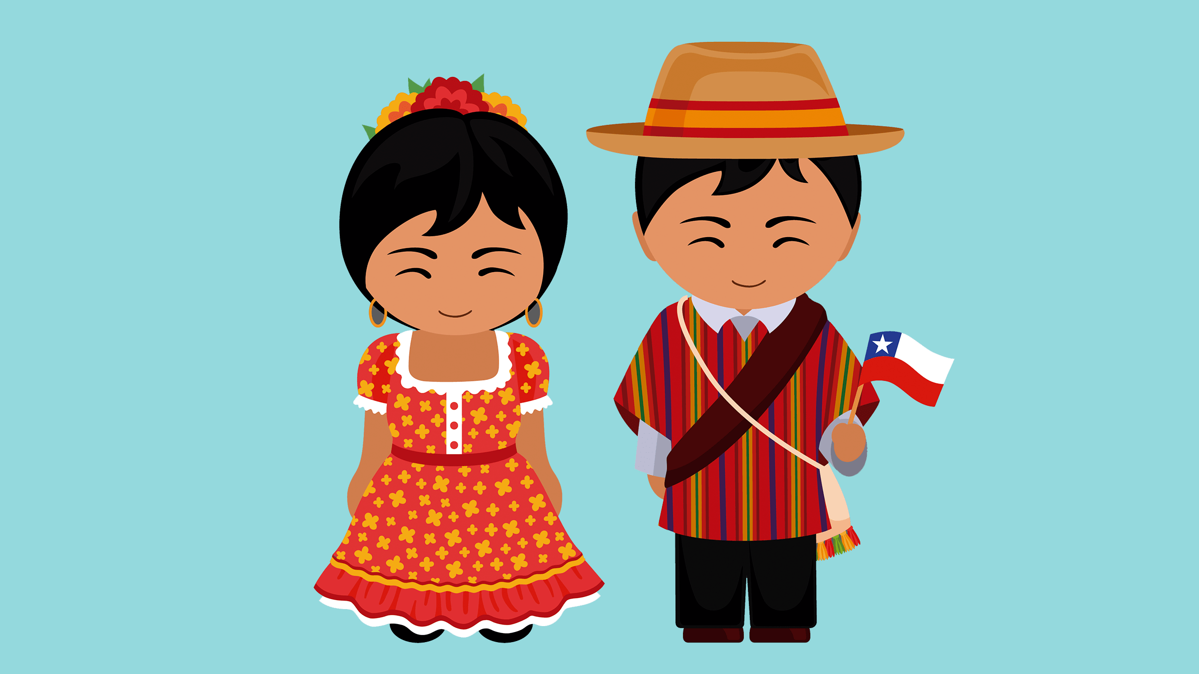 Trajes Típicos De Chile Vestimenta Tradicional De Cada Zona