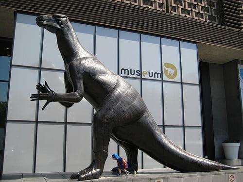 Dinosaurio en el Museo de Ciencias Naturales