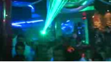 discoteca Penélope luces