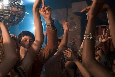 Discoteca Revival bailando