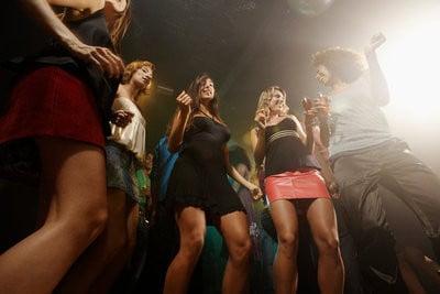 discotecas de Amsterdan grupo de amigos