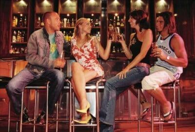 Discotecas en Sabadell en la barra