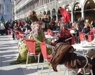 Disfraces en Venecia
