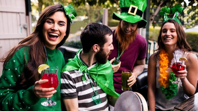 Disfraces típicos del Día de San Patricio en Irlanda
