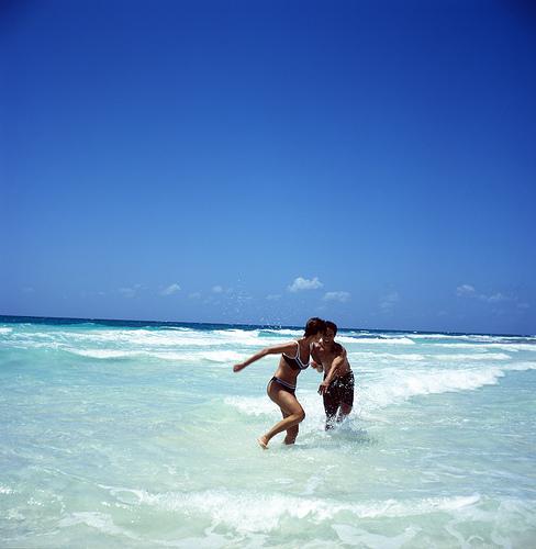 Disfrutando de las Playas