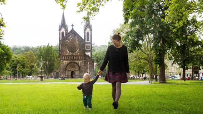 和孩子們一起享受布拉格